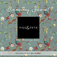 Figs & Feta is bringing you the gift of Interior Decoration to the forefront of retail… To be continued