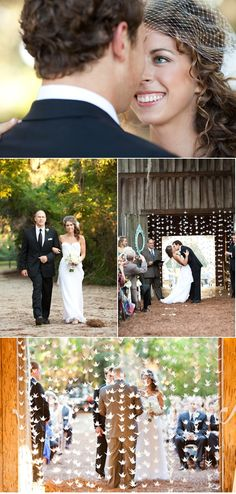 holy moly origami garland! (photos by Kellan Studios)