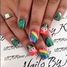 Festive St. Patrick's Day Nail Ideas - Crafty Morning