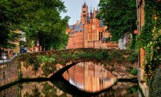 Bruges Romantic Destinations in Europe - Copyright  Wolfgang Staudt - European Best Destinations