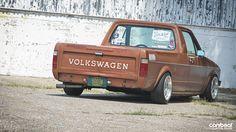 Custom culture  vw caddy pick up