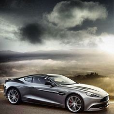 Aston Martin Vanquish, for the garage obviously