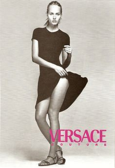 Versace S/S 1996Model: Amber Valletta