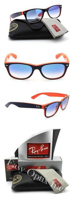 7776ff8f50b54 Ray-Ban RB2132 789 3F NEW WAYFARER Unisex Sunglasses Gradient (Blue Orange  Frame   Gradient Blue Lens 789 3F