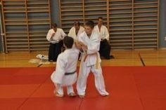 Aikido Kindertraining Linz Juni 2013: Kinderkyuprüfungen,  die Prüfungskommission bei der Arbeit