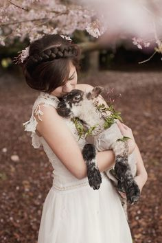 Truly & Madly Blog   Beautiful cherry spring blossom styled shoot by Bespoke Photography