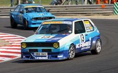 VW MK1 Golf Race Car, Gti Motorsport