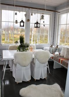 Home Decor Inspiration, Sweet Home, Cottage, Table Decorations, Garden, Furniture, Balcony, Autumn, Garten