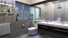 modern shower room ideas - Google Search