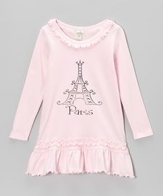 Take a look at this Pink 'Paris' Eiffel Tower Dress - Infant, Toddler & Girls by Bourbon Street Boutique on today! Pink Paris, Infant Toddler, Toddler Girls, Bourbon Street, Paris Eiffel Tower, Paris Fashion, Parisian, That Look, Tunic Tops