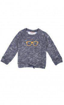 Sudaderas, jerséis y cardigans para bebés niños- Sunglasses Sweatshirt Emile et Ida - Shop at: Les Petits Chéris.com