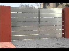 portones metalicos diseños modernos - Buscar con Google   portones ...