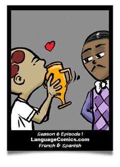 "Next episode: ""Sing"" in #French and #Spanish at http://www.languagecomics.com/pol-flor-episode-guide/ . $10.00 /mo membership for access.  ---------------------------------------------  Also friend us here: http://www.Facebook.com/LanguageComics ---------  http://www.YouTube.com/LanguageComicsTeam -------- http://www.Instagram.com/LanguageComics_"