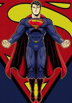 Man of Steel comic image