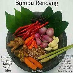 #bumbu #bumburendang #bumbudapur #bumburujak #bumbupraktis #resep #resepdapur #berbagiresep #resepmasakan #resep #resepbumbu #bumbunasigoreng #nasigoreng #resepnasigoreng #reseprendang #rendang #bumbuikan #bumburawon #sayurasem #bumbusayur #bumbusoto #bumbuseblak #bumbuayam Easy Cooking, Healthy Cooking, Cooking Recipes, Healthy Recipes, Asian Cooking, Healthy Food, Nasi Goreng, Sambal Recipe, Malay Food