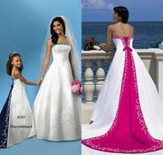 Custom Made Cheap 2016 Elegant Plus Sizes Wedding Dresses Strapless Sleeveless A-line/Princess Chapel Train Embroidery Lace up Brides Gown