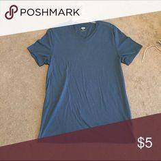 Blue Tshirt Very soft. Uni-sex but originally made for men Old Navy Shirts Tees - Short Sleeve