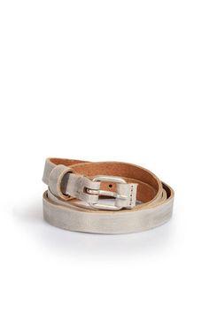 DRYKORN Ledergürtel im Metallic-Used-Look bei myClassico - Premium Fashion Online Shop
