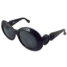 2554aa3945 BRAND NEW Vintage VERSACE (Authentic) Mod. 418-852 Womens Sunglasses  RARE