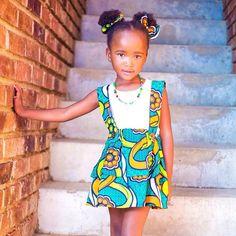 Gorgeous Kumi ♥♡♥ #AzizaKidsCouture #Africanprincesses