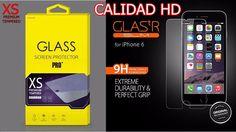Protector de Pantalla CRISTAL TEMPLADO Premium para IPHONE 6 / 4,7  caliada 9h