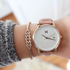 MVMT Watches Women @mvmtwatcheswomen The Rose Gold/Pea...Instagram photo | Websta (Webstagram)