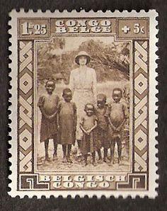 Belgian Congo Stamp More about #stamps: http://sammler.com/stamps/ Mehr über #Briefmarken: http://sammler.com/bm