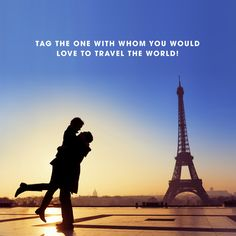 Tell us who would you want to see the world with, and why? #Friday #Travel