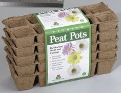 Plantation FS110 Square Peat Pots, 10 Cells, 5 Pack by Plantation Products. $7.49. Returns to shape ever after being crushed, absorbs water instantly. Biodegradable; eliminates transplant shock. Uniquely durable for easier handling. Measures 1.75 inch width by 1.75 inch height. 5 Strips of 10 square pots. Biodegradeable eliminates transpland shock. Premium peat pots are uniquely durable for easier handling. Returns to shape ever after being crushed. Absorgs water insta...