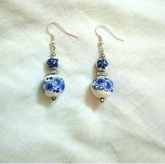Porcelian Earrings
