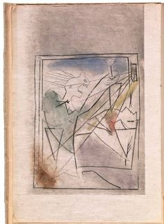 Pablo Picasso. La mort de Marat (The Death of Marat), frontispiece to the book De derrière les fagots (Behind the Bundles of Firewood) by Benjamin Péret (Paris: Editions surréalistes, 1934)