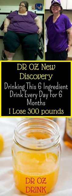 DR OZ New Discovery Drinking This 6 Ingredient Dri - Bebidas Para Adelgazar Dr. Oz, Weight Loss Challenge, Weight Loss Tips, Lose Weight, Water Weight, Detox Challenge, Walking Challenge, Reduce Weight, Lose Fat