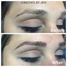 Microbladed (tattooed) Brows By Jen and all about this new trend!