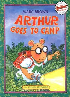 "Lesson using ""Arthur Goes To Camp"" by Marc Brown to teach beginning, middle and end"
