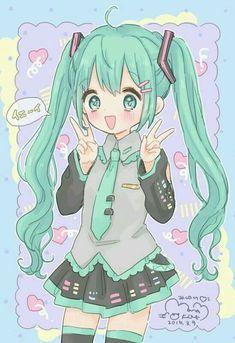 Manga Kawaii, Kawaii Chibi, Kawaii Art, Kawaii Anime Girl, Anime Chibi, Anime Art, Anime Girls, Otaku, Kawaii Drawings