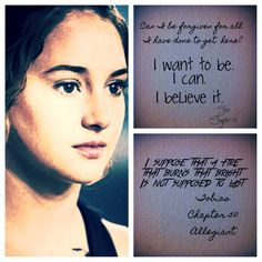 Allegiant quote non spoilery I finished it Monday and my soul is wrecked.