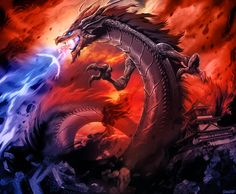 L5R - Shadow Dragon by GENZOMAN.deviantart.com on @deviantART