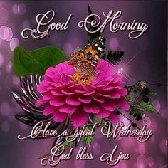 #14753 Great Wednesday Good Morning