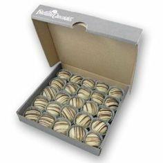 Praline Truffles White Chocolate Dilettante
