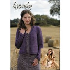 7ab1716e4 Jackets in Wendy Supreme Cotton DK (5664) - All Patterns - Patterns Knit  Cardigan