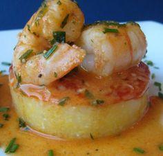 polenta shrimp cakes