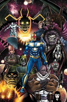 Marvel's Cosmic cast