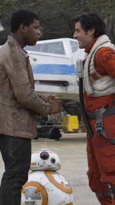 Movie Star Wars Episode VII: The Force Awakens Star Wars Oscar Isaac Poe Dameron John Boyega Finn BB-8 X-wing.