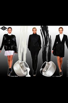 Check out this simple black & white color fashion trend with - French White and - Liquorice Bio Sculpture, Colorful Fashion, Black And White, Evo, Fashion Trends, French, Simple, Check, Black N White