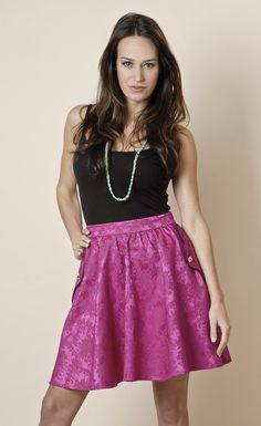 This is one of my favorite products on Kembrel: 30 LAUREL - FUCHSIA BROCADE SKIRT - FUCHSIA. Check it out and get 20% off for the next 48 hours.    #myKembrelStyle