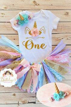 First Birthday Unicorn Tutu Outfit | First Birthday Outfit Girl | Girls First Birthday Outfit Unicorn | One Tutu Set #ad #unicorn #unicornparty #birthdayparty #birthdaypartyideas #birthdaygirl #unicornoutfit #girlclothes #girloutfit #firstbirthday #partyideas