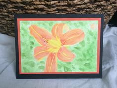 Watercolor Tiger Lilly by TandFArtistry on Etsy