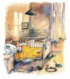 I love Shirley Hughes' books and illustrations.