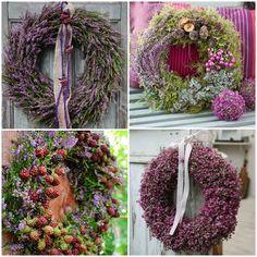 Jesienne dekoracje z wrzosów