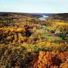 WOW! Gorgeous view from Bowman's Tower captured by Twitter follower ContextUSA.